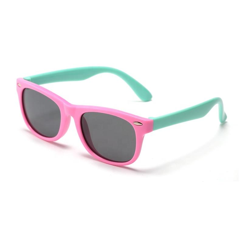 Fashionable cool kids promotional boy girl kids sunglasses UV400