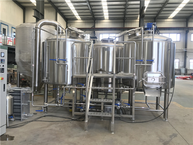 2500l beer system