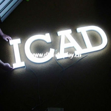 China manufacturer lighted ice cream sign manufactured company logo invitation letters