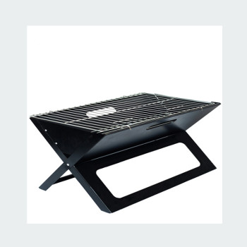 Folding Portable Charcoal X- Grill for Any Skewers, Kebabs, Japanese Skewers
