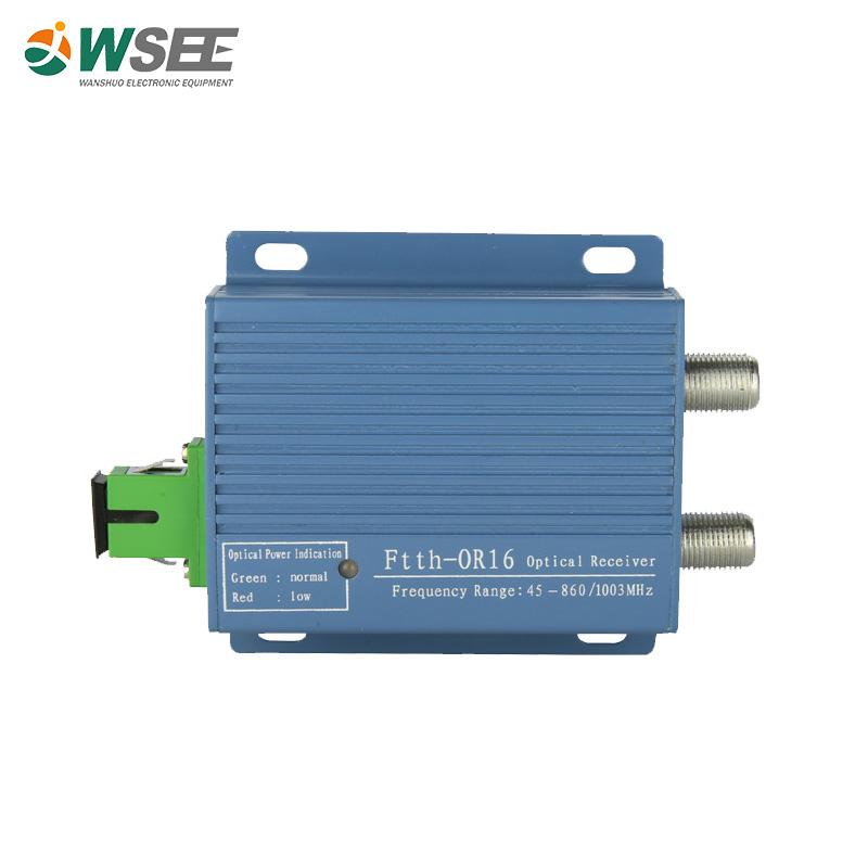 FTTH MINI CATV Optical Receiver Fiber Node 1550nm