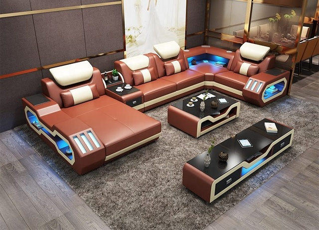 Awe Inspiring New Music Player Usb Lights Living Room Sofa Set Real Leather Sofa Buy Leather Sofa Sofa Living Room Sofa Product On Alibaba Com Machost Co Dining Chair Design Ideas Machostcouk