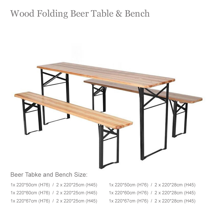Outdoor Beer Tables