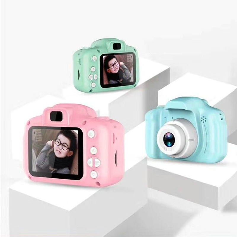 2020 hot sale x2 mini toy camera For Kids children Full HD 1080P Portable Digital Video Photo 2 Inch Screen Display with Game