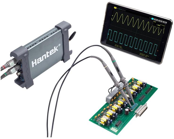 Kinerja Tinggi Dual Channel Hantek Idso 1070A Oscilloscope Logic Analyzer