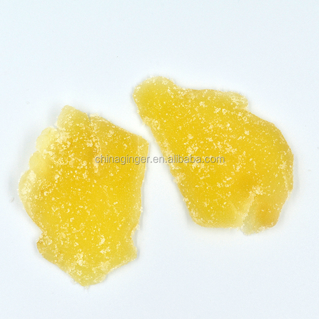 crystallized ginger slices with Granulated sugar