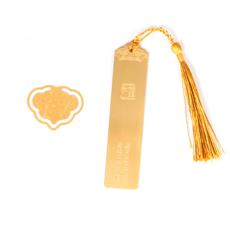 Personalized Brass Gold Bookmarks With Chinese Design Book Mark <strong>Metal</strong> Cheap