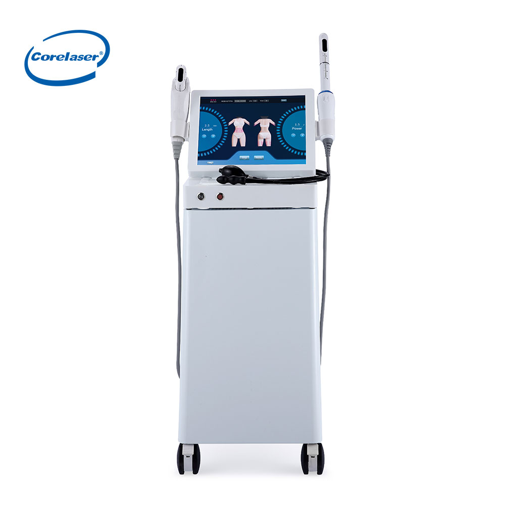 Two in one HIFU machine Vaginal HIFU and HIFU Face wrinkle removal machine