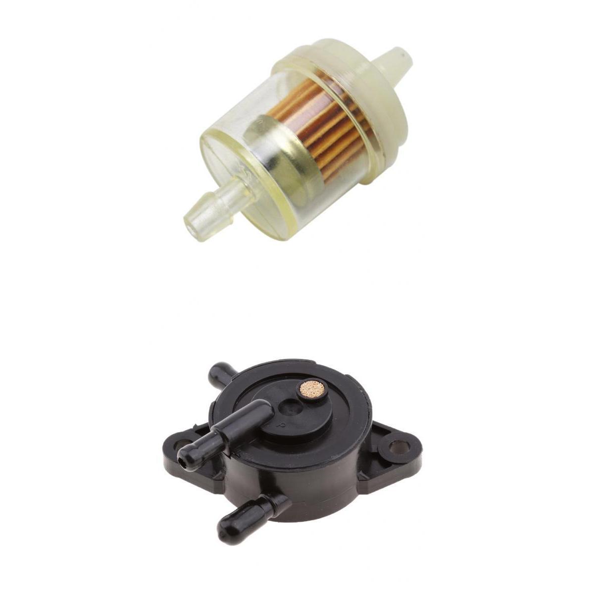 Vacuum Fuel Pump & Filter for KAWASAKI MULE 610 4X4 XC KAF400 2010 - 2015, Motor Bike/Dirt Trail Pocket Mini Bike Accessories