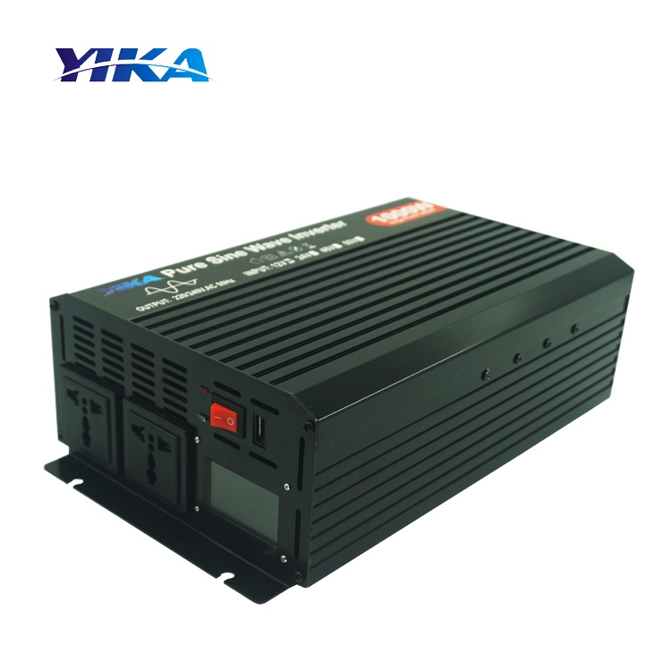 YIKA TP-1000W 12V 24V 48V DC ZU AV 110V 220V 1000W Reine Sinus Welle inverter Off Grid Power Inverter