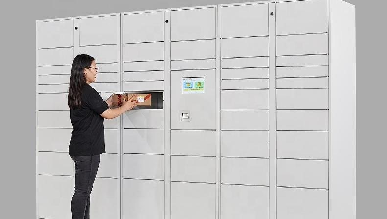 Tự Pick Up Điện Tử Thông Minh Tủ Bưu Kiện Giao Hàng Locker Cho Post Nhanh