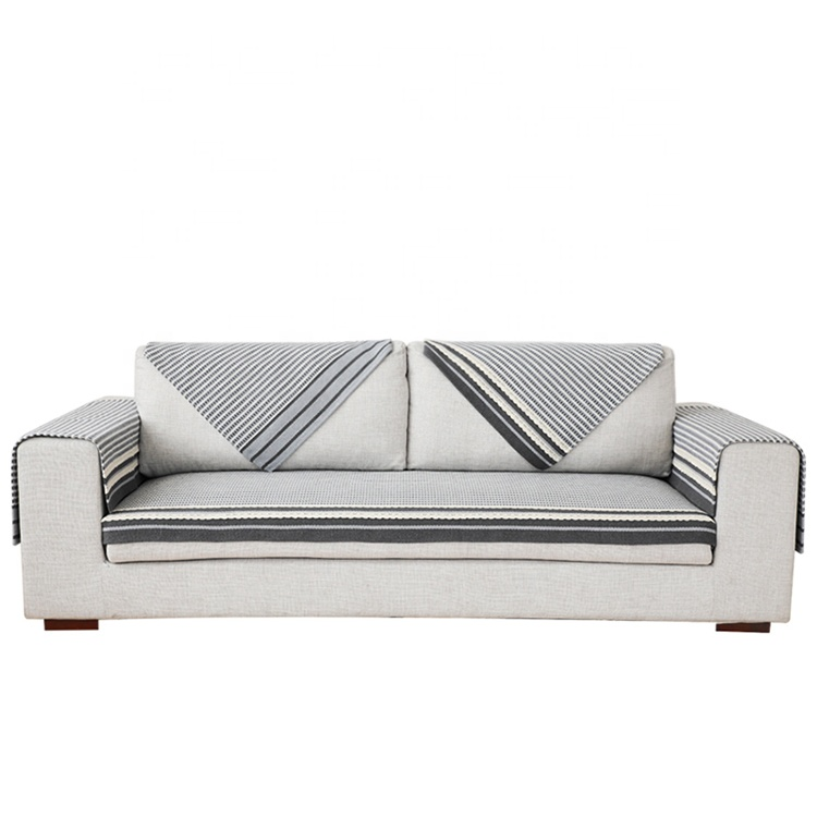 Plain Style Large Sofa Throws Covers