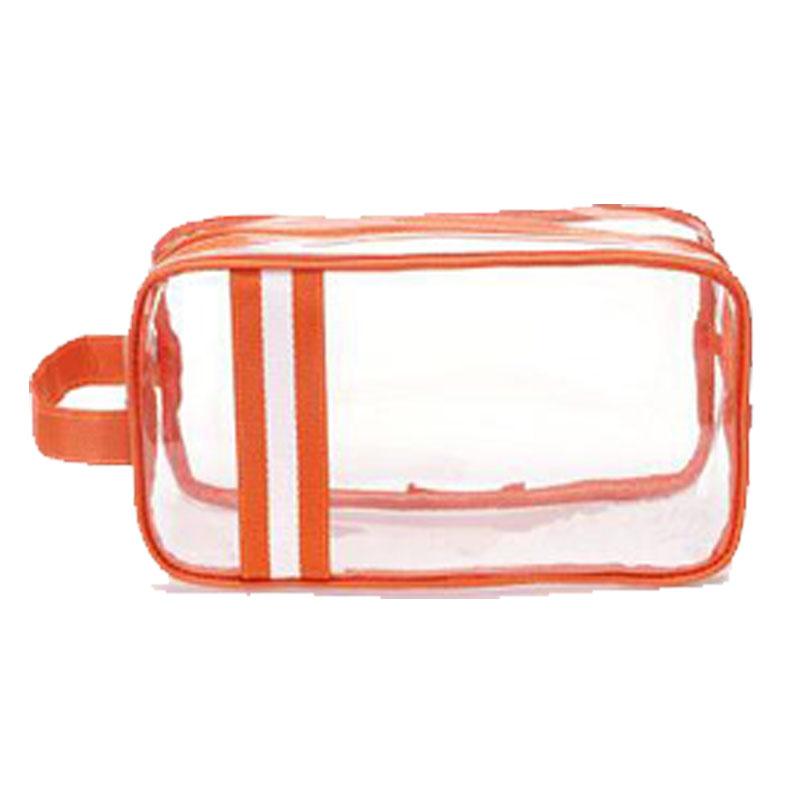 מותאם אישית PVC קוסמטיקה איפור תיק עמיד למים תיק רחצה שקוף ברור איפור תיק