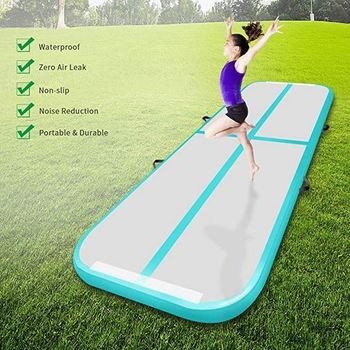 Outdoor fitness inflatable floor for home