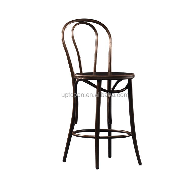 product-Uptop Furnishings-Sample design wood seat metal frame chair-img-7