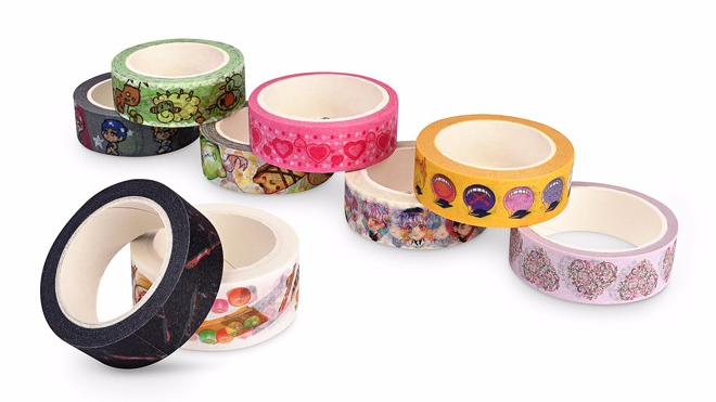 2019 custom print pretty charm personalizada impresa cinta washi for decoration