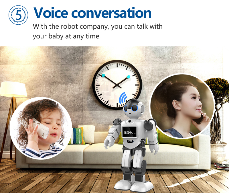 IC-R01 Bobi Mini Robot Rechargeable Voice Control Talking Dancing Smart Intelligent Robot Toy