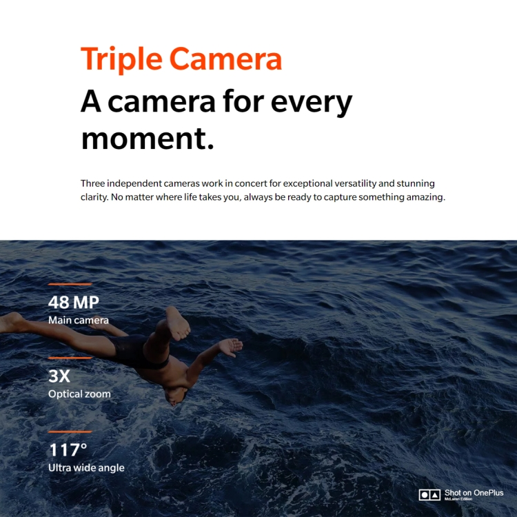 Popular Presale OnePlus 7T Pro McLaren Limited Edition, 48MP Camera, 12GB+256GB