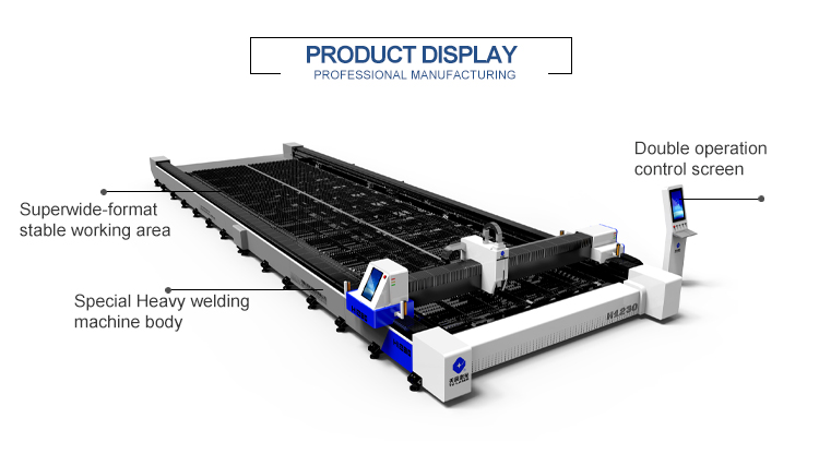 High quality China Jinan factory supplier metal cnc fiber laser cutting machine