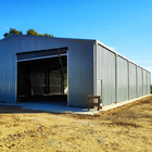 Construction design prefabricated steel structure warehouse shed in Uruguay