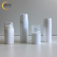 In Stock White PP Plastic Pump Airless Bottle for Body Lotion 30ml 50ml 80ml 100ml 120ml 150ml