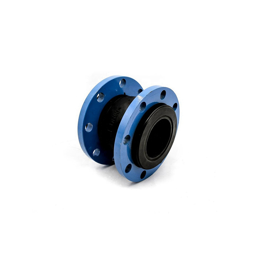 Nbr competitive price single rubber sphere expansion joints range flanged ansi