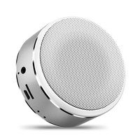 Metal FM LED Wireless Portable Mini blue tooth Speaker fm radio shower speaker