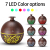 Small 130ml Cool Mist Humidifier, USB Mini Ultrasonic Essential Oil Aroma Diffuser with Waterless Auto Shut-Off