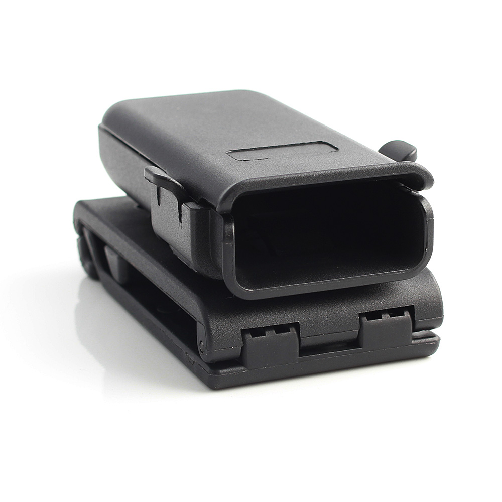 Tactical Adjustable Mag GLOCK Holster Single Magazine Pouch with Belt Clip for All Pistol G17 1911 M92 P226 USP