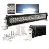 "2019 new arrival stainless steel bracket combo beam truck barra led car 4x4 offroad 52"" led light bar"
