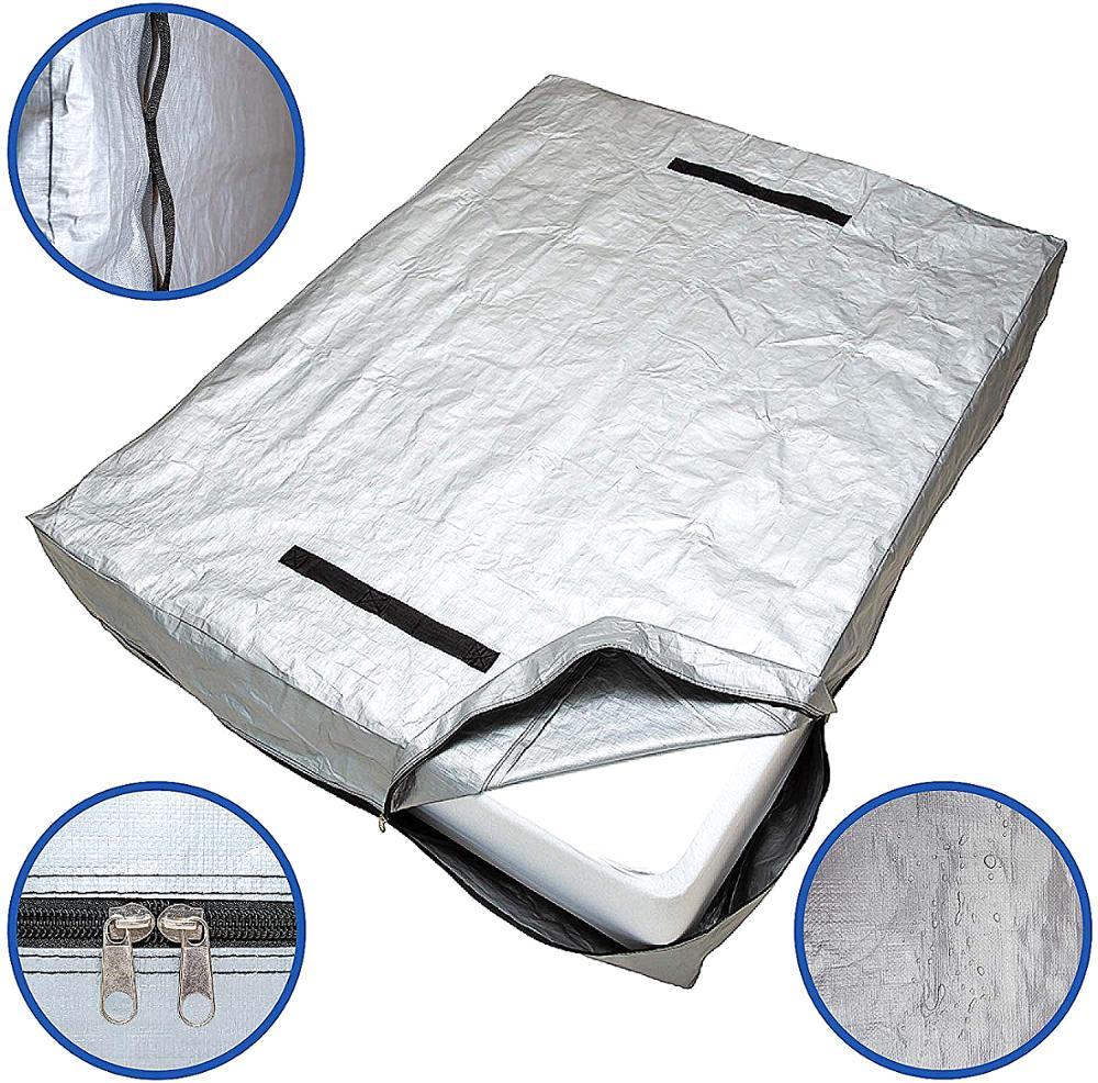 YA parlaklık yeniden kullanılabilir yatak örtüsü taşıma ve depolama için