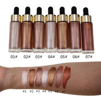 Private Label Liquid Highlighter Makeup Shimmer Face Contour Liquid Highlighter Makeup Highlight Concealer