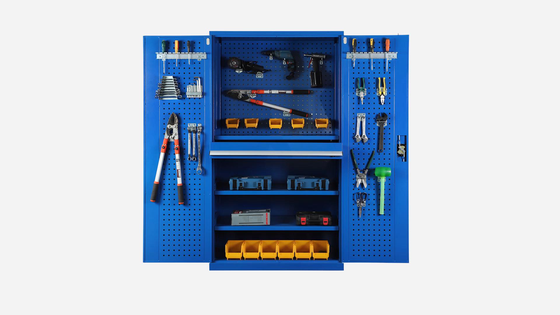 गर्म बिक्री भंडारण उपकरण और हुक शिल्पकार उपकरण कैबिनेट बॉक्स