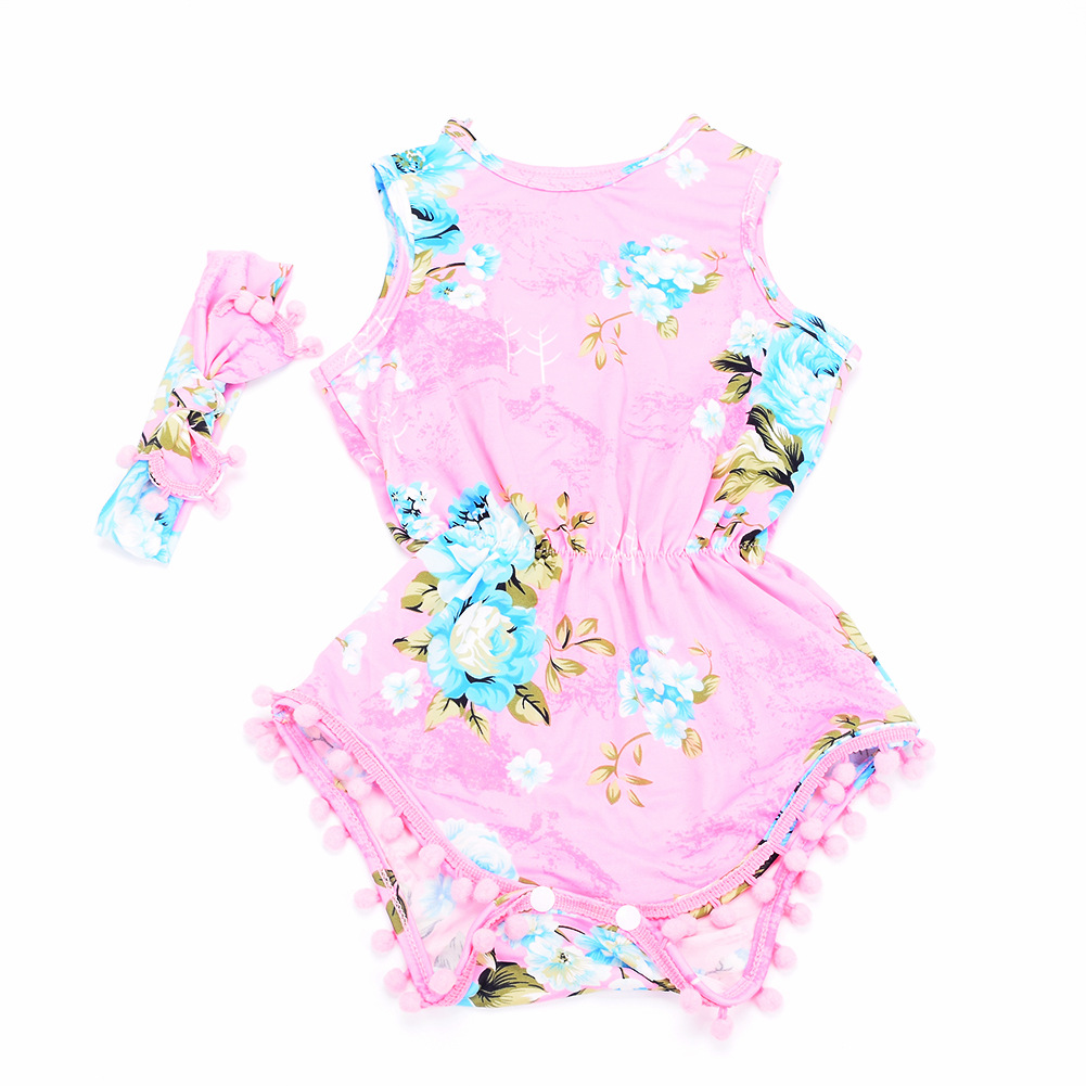 Wholesale Custom New Printing Romper Short Sleeve Baby Boys' Creeper Jumpsuits Baby Girls' Romper Clothing Sets Babies Romper