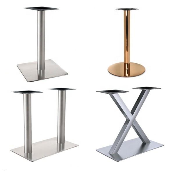 Antique Black Cast Iron Metal Table