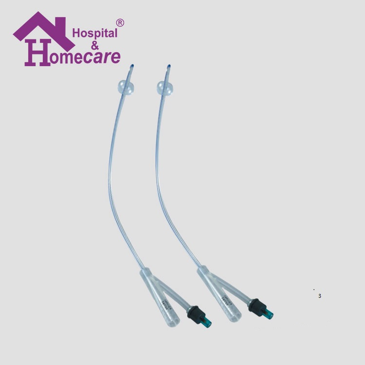 disposable 100% sterile silicone foley catheter