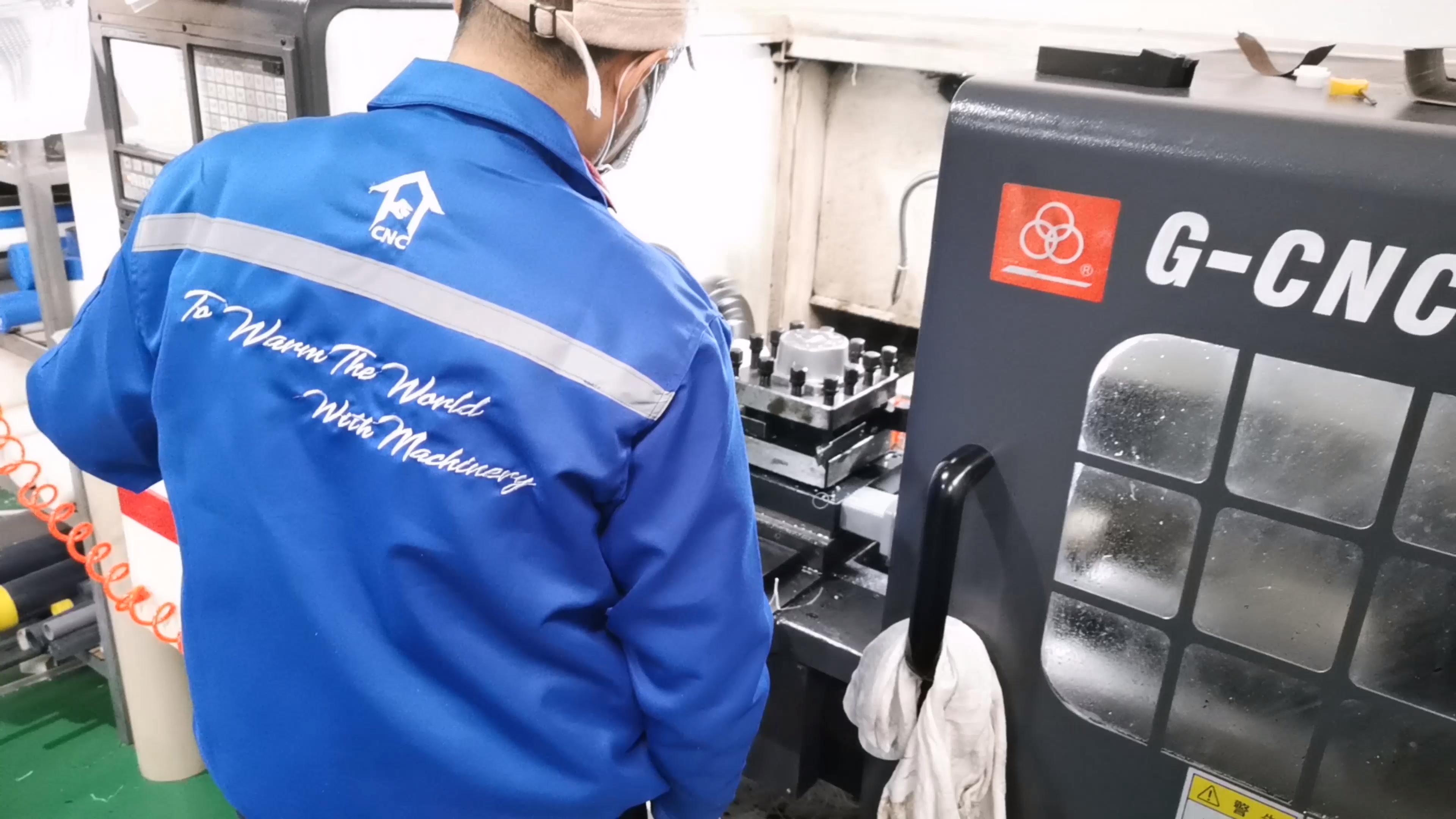 Werken In Vakantie China Shanghai Factory Custom Aluminium Onderdelen Cnc Draaien Verspanen Fabricage