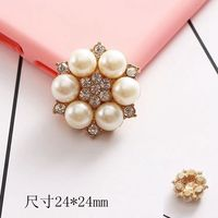 China factory wholesale silver pearl ladies bijoux pendant women charm jewelry pearl flower phone accessories