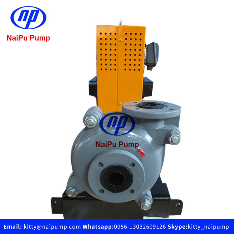 NaiPu 5.5kw ZVz 1.5/1 B-NAH Rubber Liner Gold Mining Slurry Pump Exported to Australia