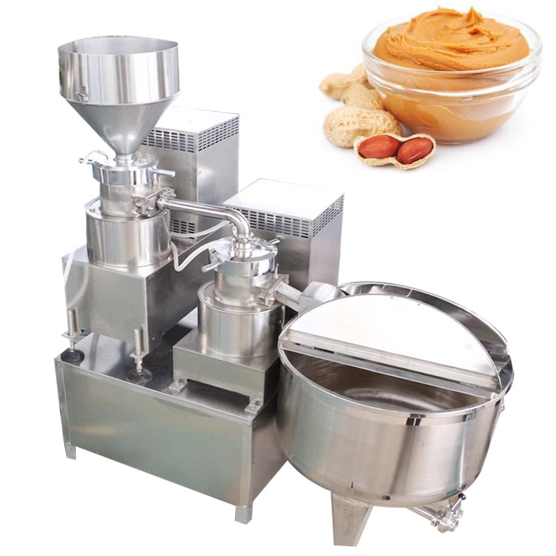Electric cocoa nut Peanut butter machine colloid mill production line