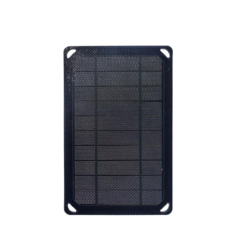 mini etfe solar panel usb 5w 5v outdoor backpack solar charger
