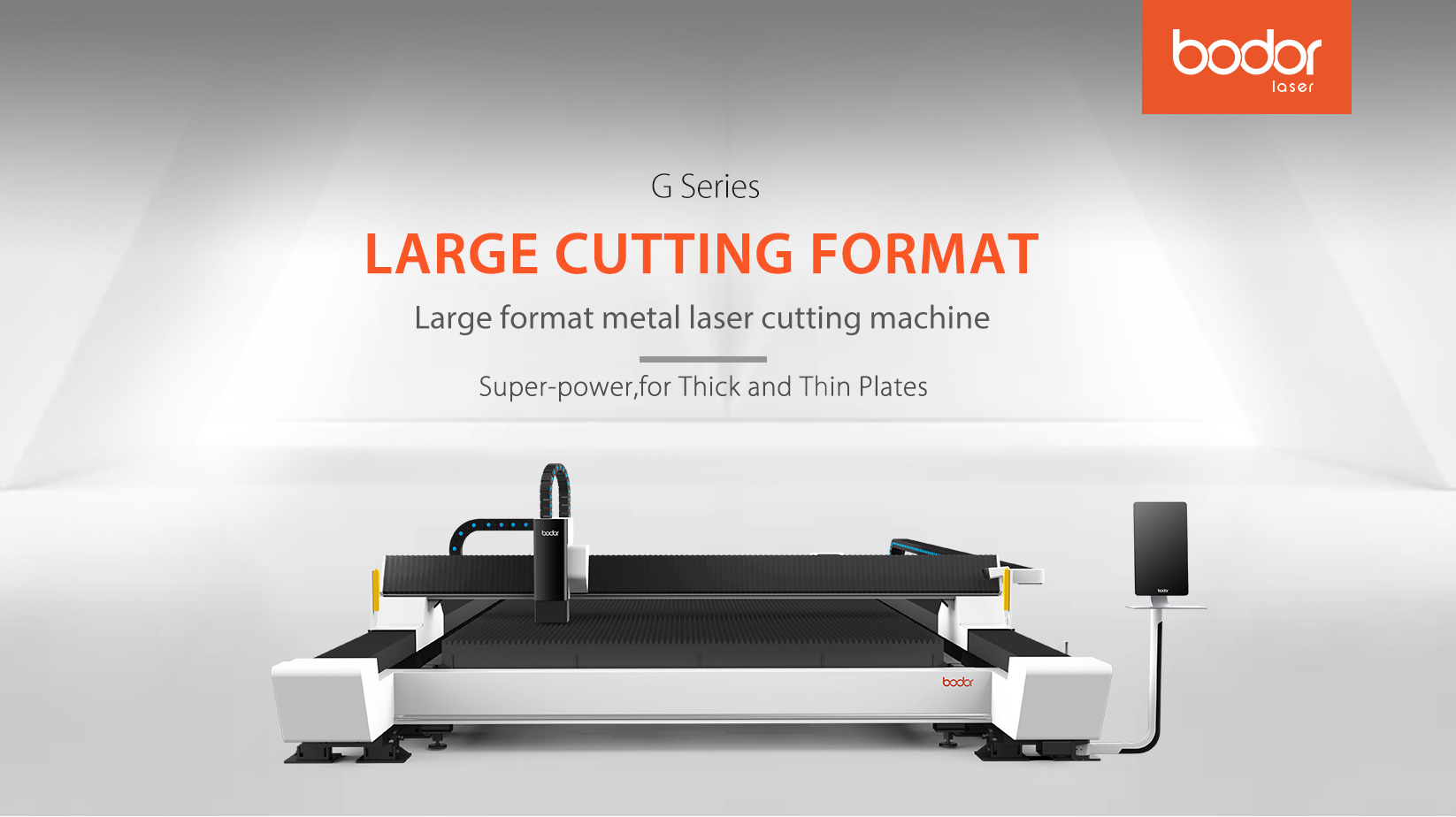 Fiber laser cutting machine G series bodor laser cutter for metal,aluminum