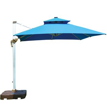 Direct factory beach outdoor large design anti uv parasol patio garden sun umbrella