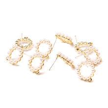 5 шт DIY серьги аксессуары красочные крошечные серьги-ромашки подвески для StudEarring женские модные элегантные женские серьги ручной работы(Китай)