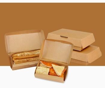 Desain Yang Unik Food Grade Kertas Kerajinan Kotak Kemasan Makanan