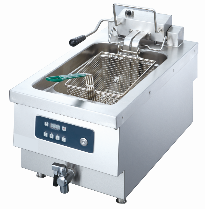 Commercial  Countortop Fryer With Stainless Steel 10L Deep Fryer For Restaurant used commercial deep fryer
