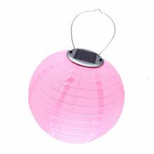 Солнечный светильник, фонарь, светодиодная лампа, шар, солнечный Сказочный светильник s, водонепроницаемый нейлоновый глобус, свадебное укр...(Китай)