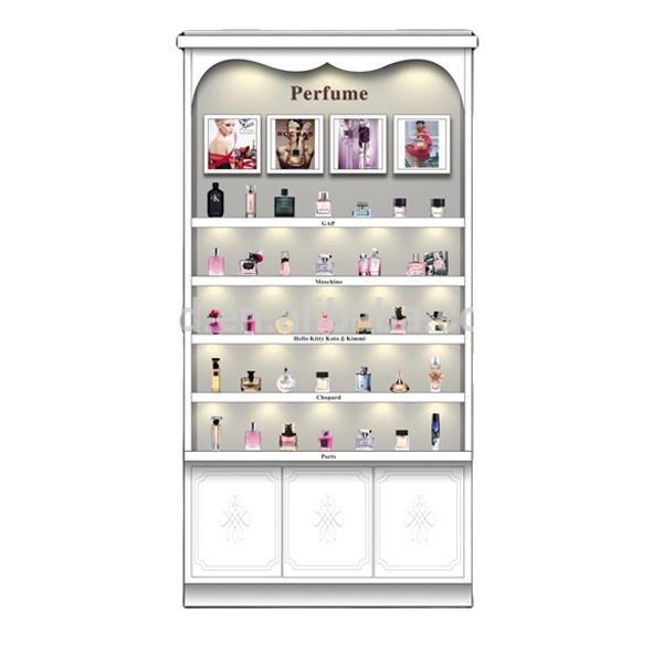 shopping mall Perfume Display Cabinet,Cosmetics Showcase,perfume kiosk