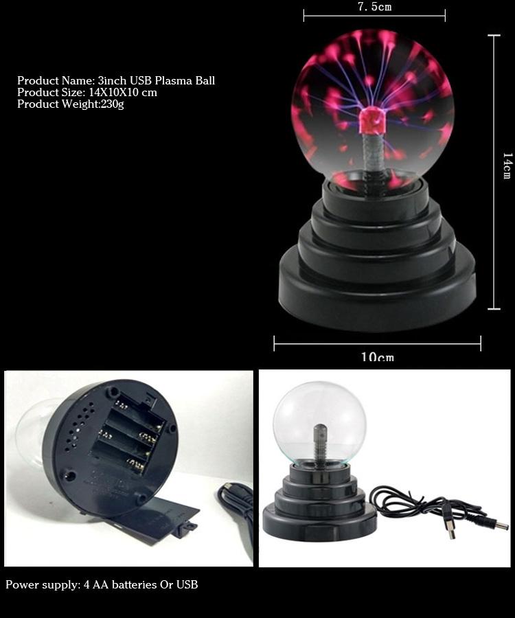 Заводская цена Лидер продаж праздничные подарки Ион волшебный свет Гром Мяч светать