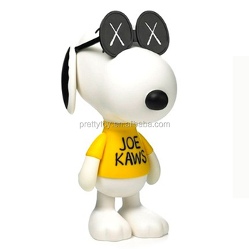 American comic Peanuts Snoopy LED will light model toy doll